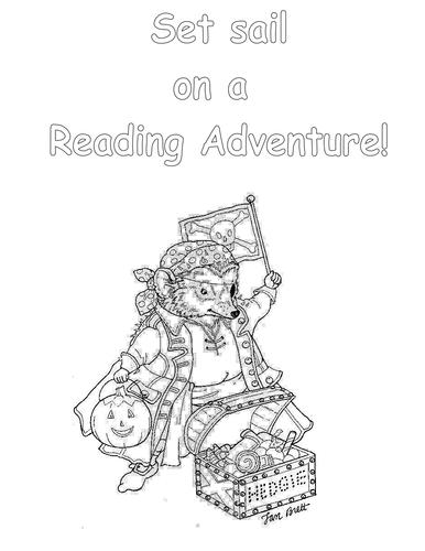 Pirate themed handouts/creative writing