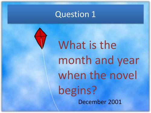 'The Kite Runner' Quiz