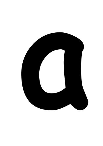 alphabet flash cards with corresponding pics
