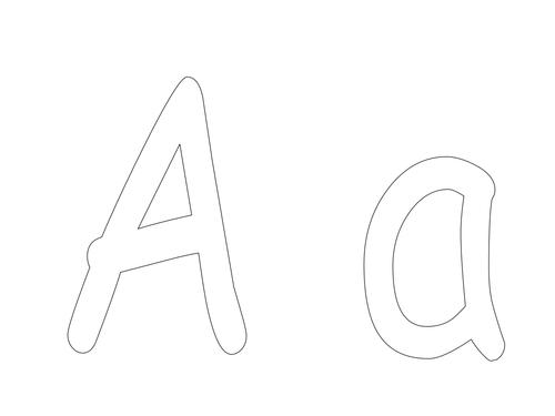 PowerPoint of alphabet