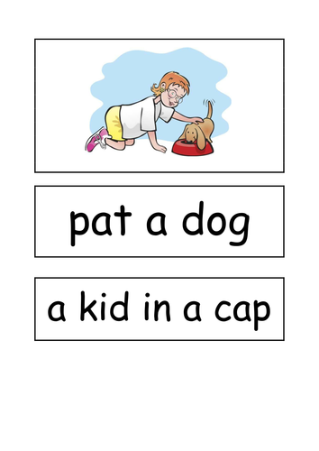 Phase 2 captions with sets 1-4 words
