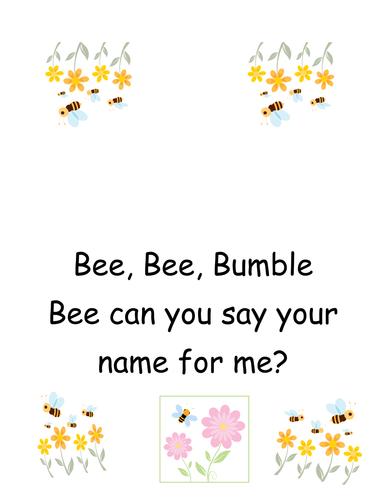 Bee; bee bumble bee