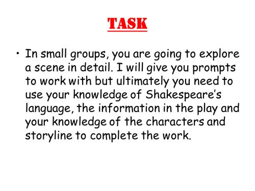 Macbeth group work