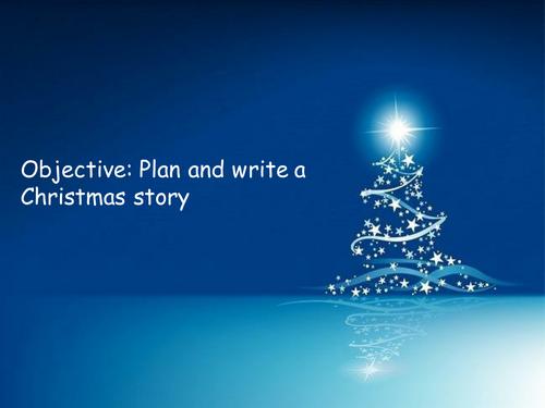 Writing a Christmas story