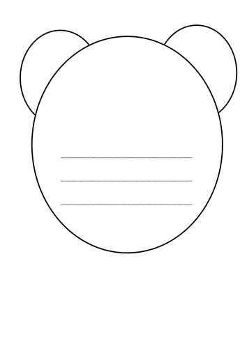 Bear writing book