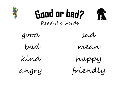 Jack and the Beanstalk - Good or bad characters