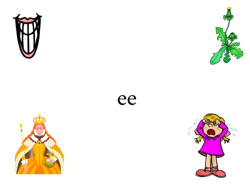 phonics ee words