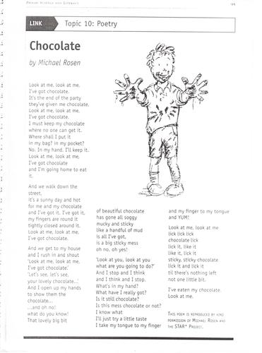 Chocolate by Michael Rosen