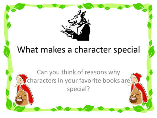 What makes characters interesting?