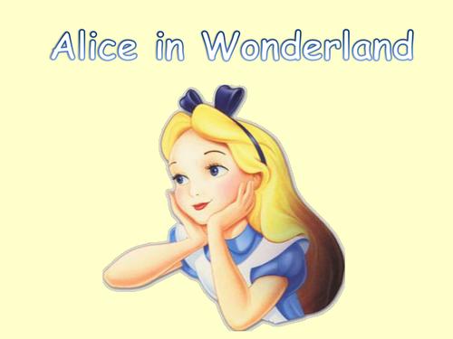 Alice in Wonderland Interactive story book