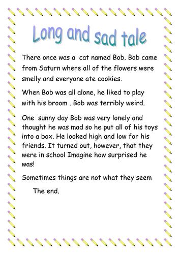Long sad tale
