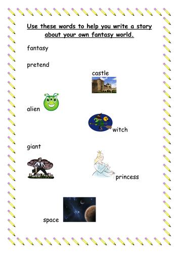 Fantasy World Word Bank