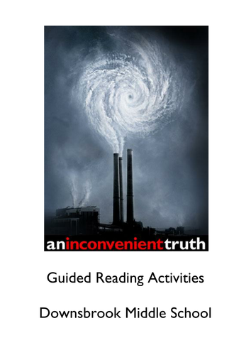 Guided Reading Booklet for 'An Inconvenient Truth'