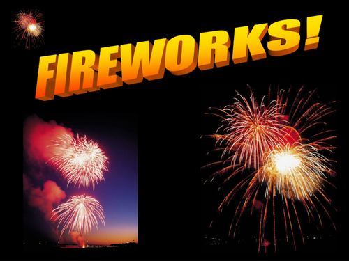 Fireworks pics and sounds