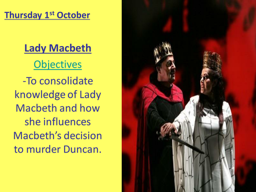 how the characters of macbeth and