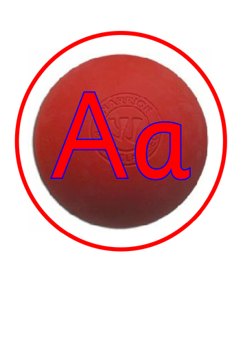 Sports themed Alphabet