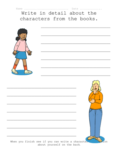 Characters from Books