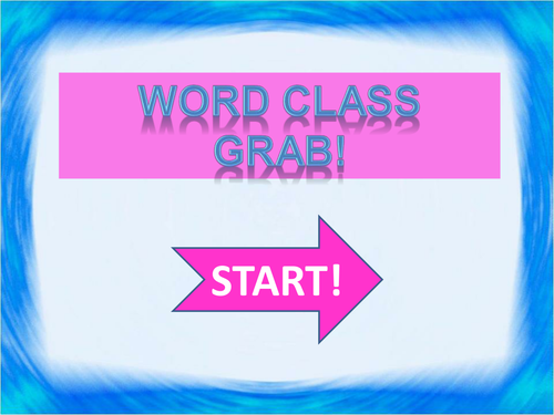 Word Class Grab