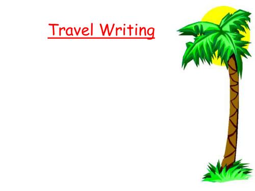 Alliteration (travel writing)