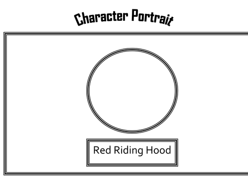 Character Portrait: Little Red Riding Hood