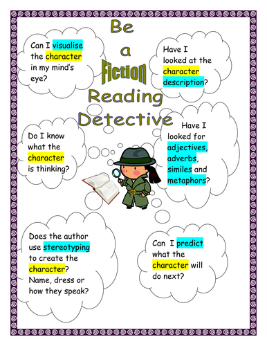 Reading Detective Posters
