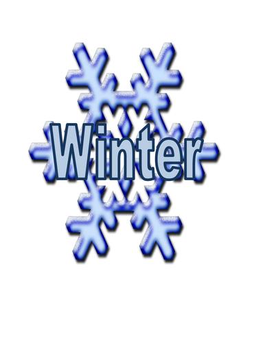 Winter Topic Words