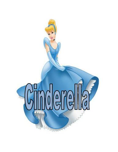 Display Words for Cinderella