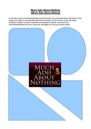 'Much Ado About Nothing' - misunderstandings