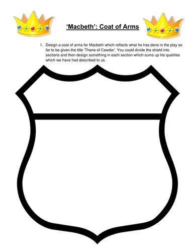Macbeth: design a coat of arms