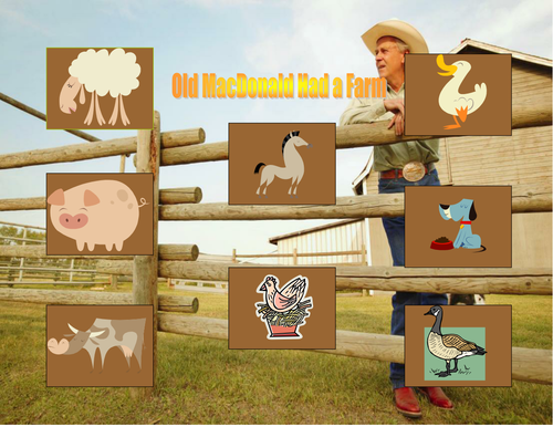 Book based game: Old Mac Donald