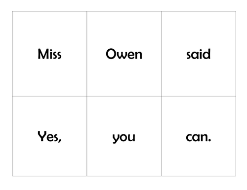 Book Based Readin Game: A monster for Miss Owen (story worlds Our world red level)