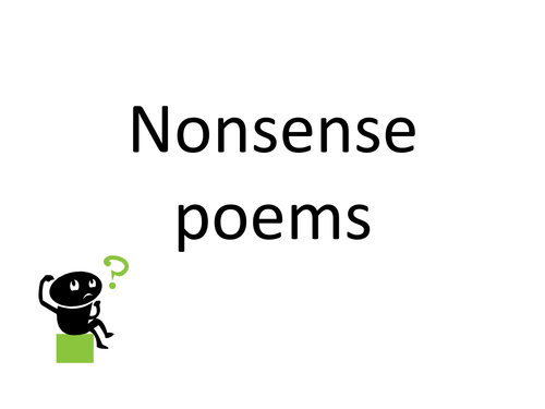 Silly Poems PPT