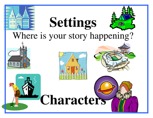 Characters and settings - Essay Example