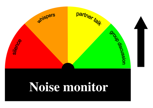 Classroom noise monitor