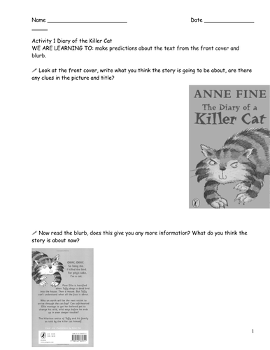 Diary of the Killer Cat