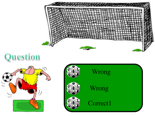 Penalty Shootout wrap up - multiple choice