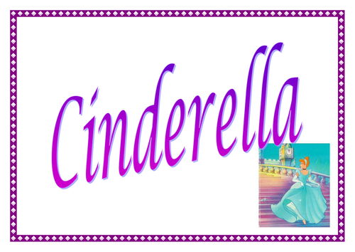 Cinderella Story Outline Posters