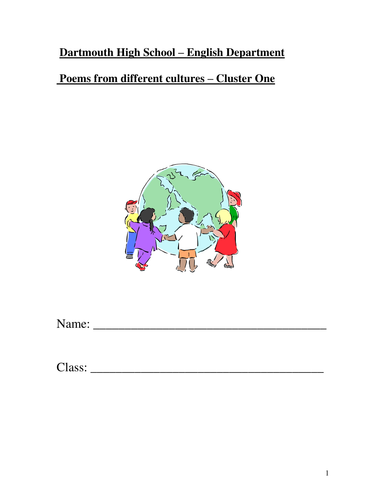 Poetry from other cultures guidebook