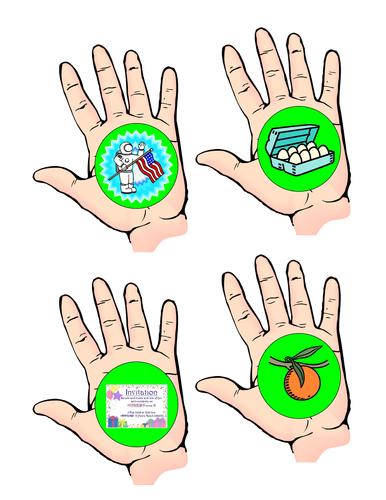Alphabet Picture Hands