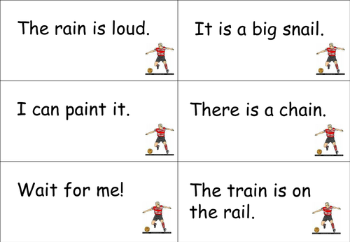Football Phonics - more resources