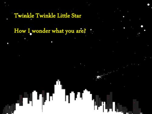 'Twinkle; Twinkle; Little Star' Presentation