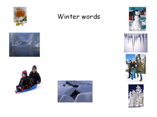 Winter Acrostic