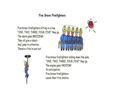 Five Brave Firefighters.