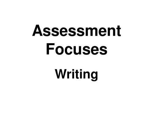 Assessment foci