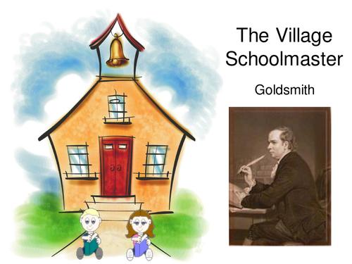 The Village Schoolmaster - Goldsmith