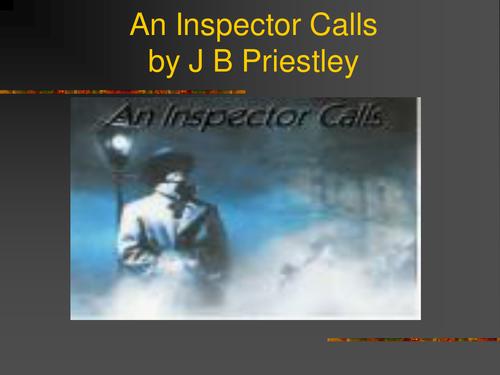 An Inspector Calls Social & Historical Context PowerPoint