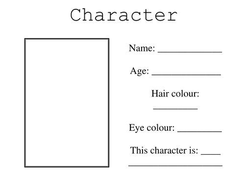 Character passport