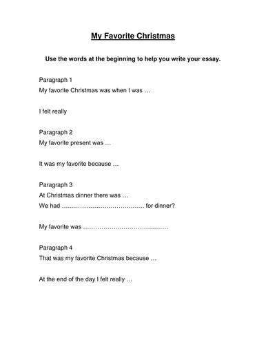 My Favorite Christmas Narrative