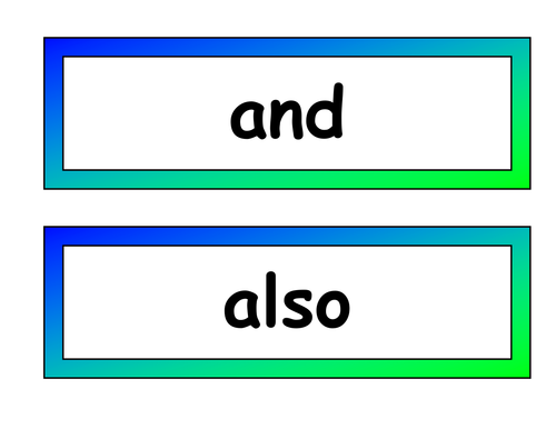 Connectives display