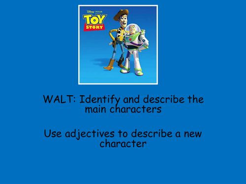 Toy Story Familiar Settings